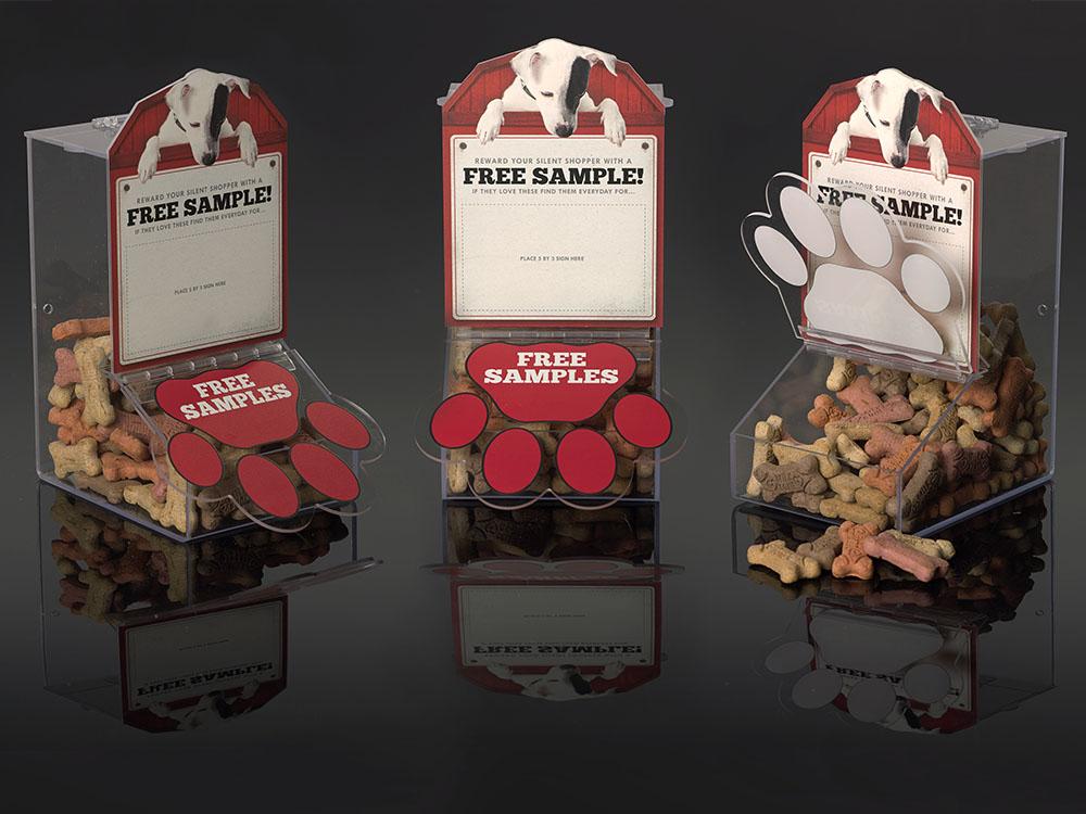 Dog Treat Fabricated Merchandiser