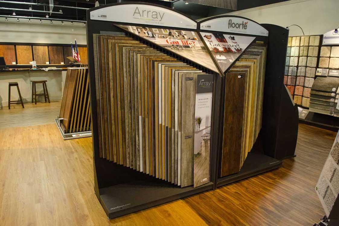 Modular Flooring Displays