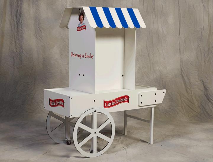 Little Debbie Muffin Cart